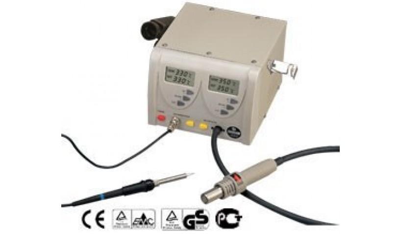 Цифровая паяльная станция ZD-912 (паяльник + термофен)