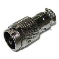 Разъём М микрофонный, 2pin, под кабель