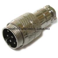 Разъём М микрофонный, 8pin, под кабель