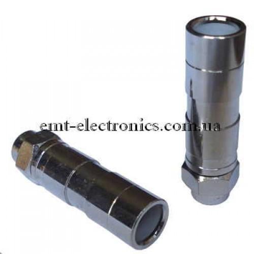 Штекер F для кабеля RG-11, компрессионный
