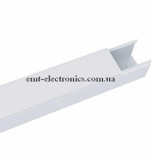 Кабель-канал (T-Plast) 15х10мм, белый, 2м