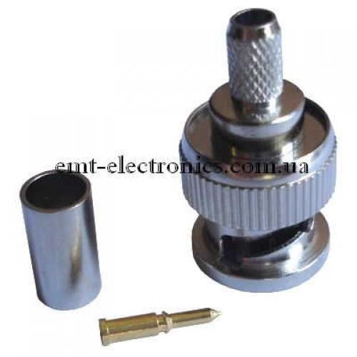 Штекер BNC (RG-58) обжимной