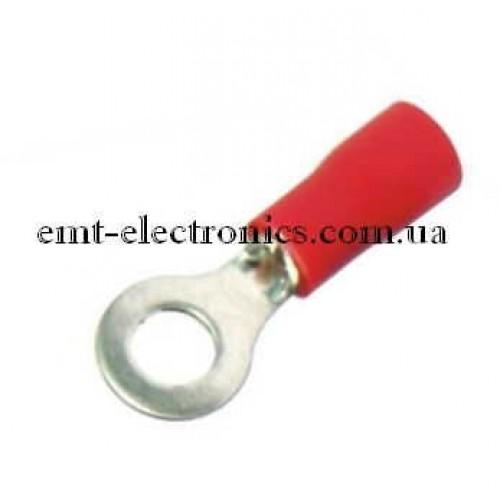 Кабельный наконечник 0,5-1,5кв.мм., 19А, отв. 4,3мм (100шт.)