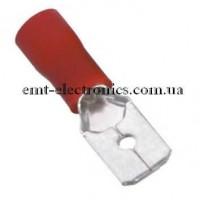 Кабельный наконечник плоский (папа) 0,5-1,5кв.мм., 10А (100шт.)