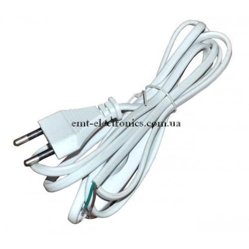Шнур сетевой универсальный с выключателем 2*0,75, 1,5м