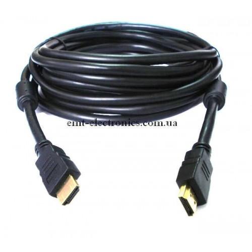 Шнур HDMI - HDMI, диам.-7,3мм, 1м