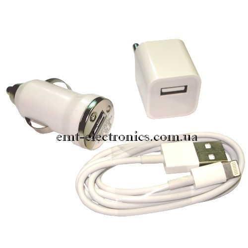 Набор универсальный для зарядки и передачи данных iPhone 5 (картон)