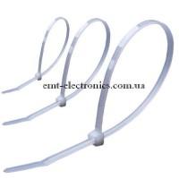 Стяжки (хомуты) кабельные, 760х9,0мм, белые (100шт.)