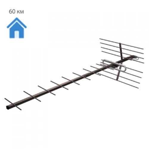 Антенна телевизионная внешняя  Проминь , прием аналогового и цифрового сигнала T2