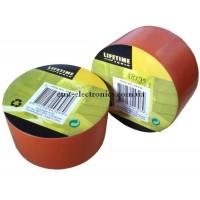 Изолента ПВХ, универсальная, 0,15*48мм, оранжевая, 33м