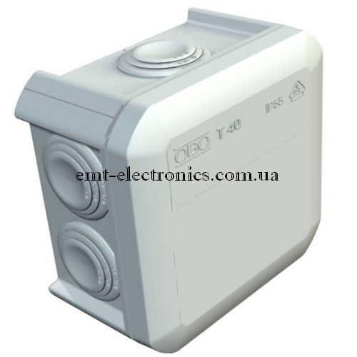 Коробка распределительная Т40 / 90х90х52 IP 55