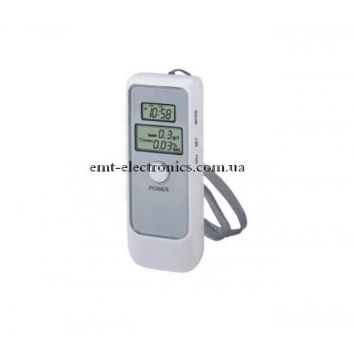 Цифровой алкотестер с LCD дисплеем и часами
