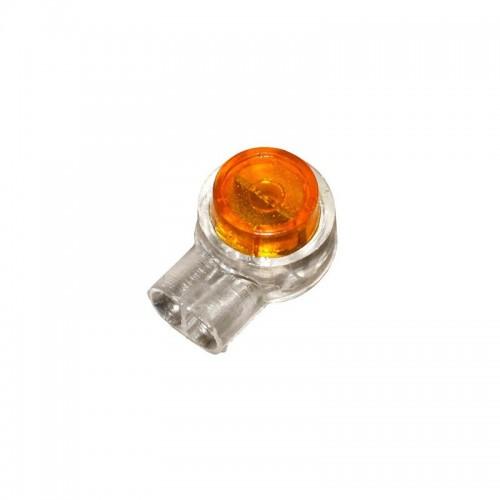 Клемма быстрого монтажа изолированная с гелем  2*(0,4-0,9мм)100 шт