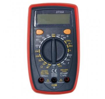 Новинка! Многофункциональный мультиметр DT33A c подсветкой и термопаро