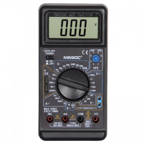 Цифровой мультиметр M890C+