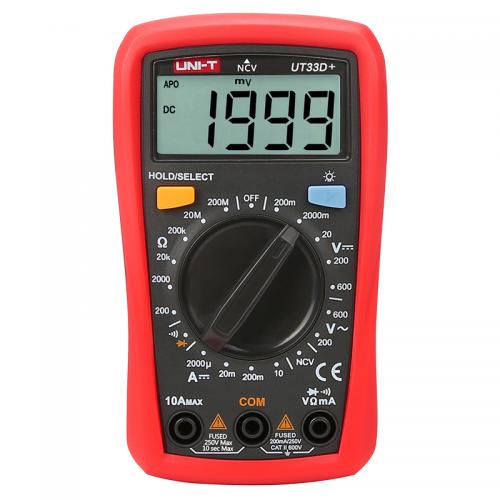 Цифровой мультиметр UNI-T UT-33D+